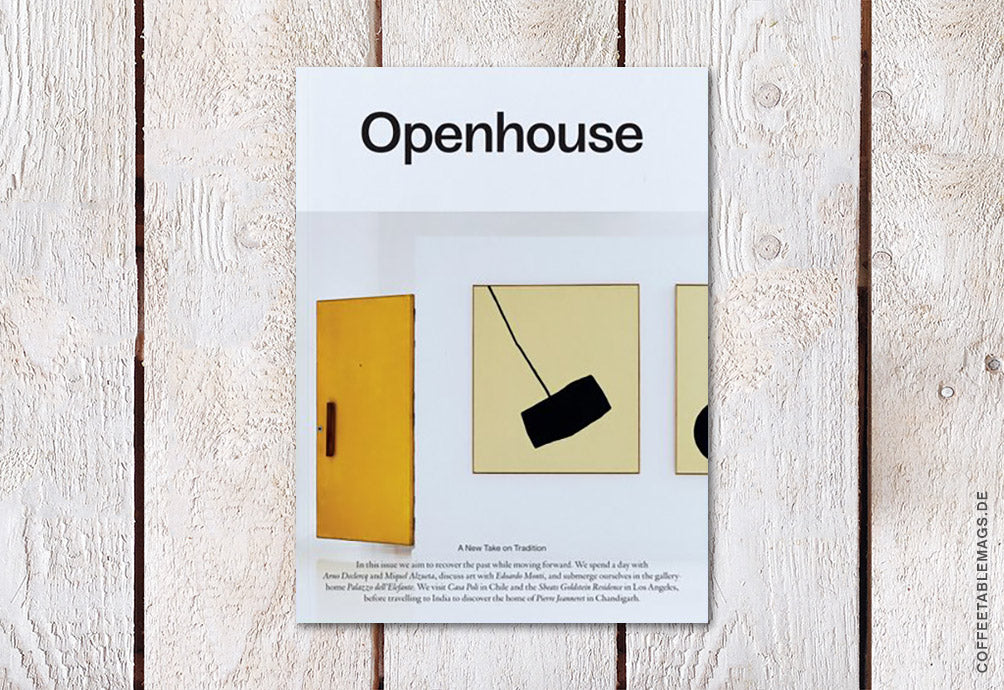 Openhouse Magazine – Issue 11: A New Take on Tradition – Cover