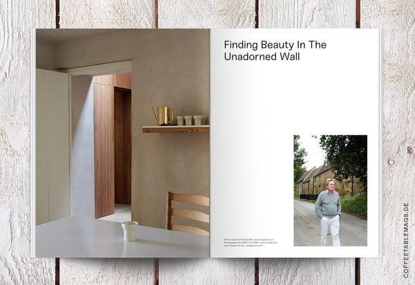 Openhouse Magazine – Issue 12: Lessons in The Art of Calmness – Inside 01