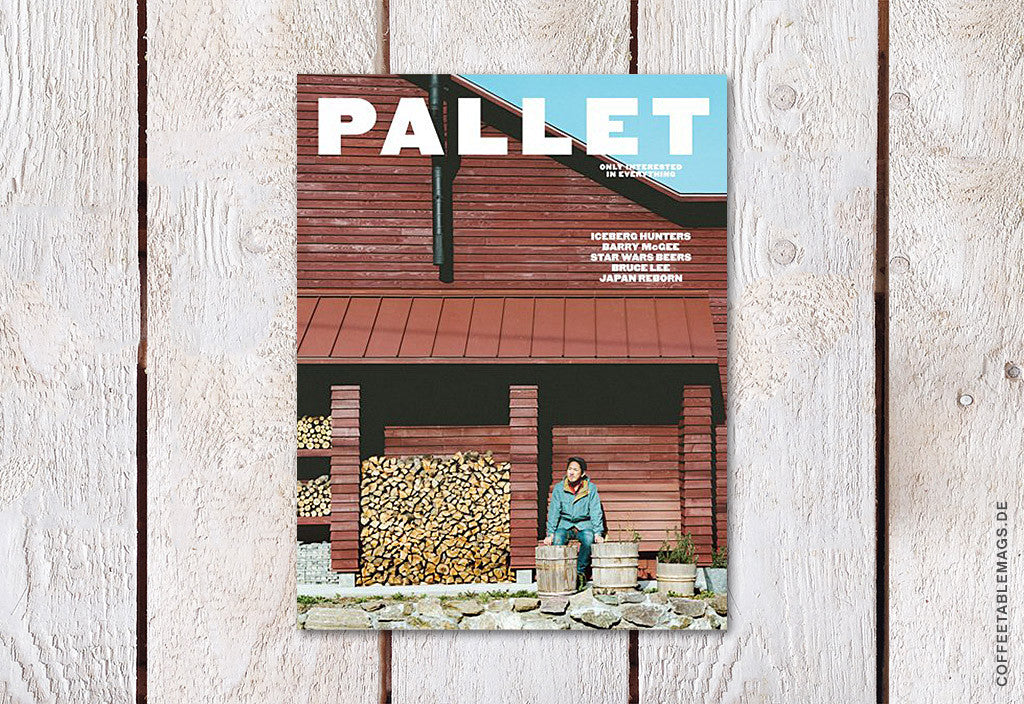 Pallet Magazine – Issue 3 – Cover