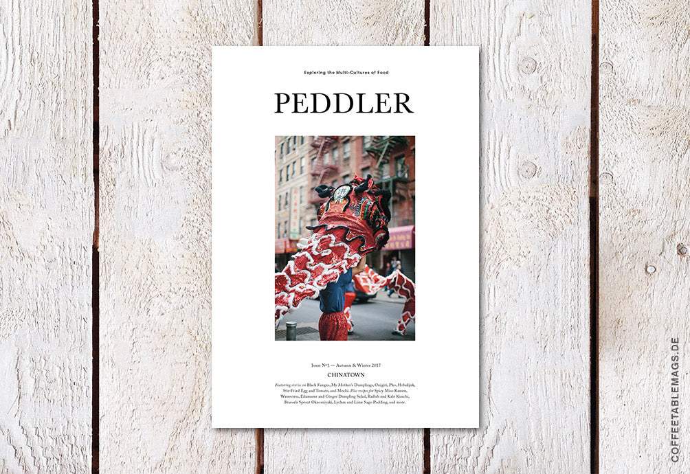 Peddler Journal – Issue 01: Chinatown – Cover