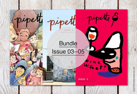 Pipette Magazine – Bundle (Issue 03–05) – Cover