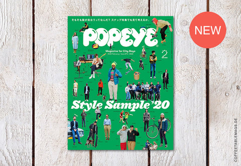 Popeye – Issue 874: Style Sample '20 – Cover