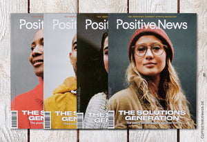 Coffee Table Mags // Independent Magazines // Positive News – Number 96 (Jan–Mar 2019) – Cover