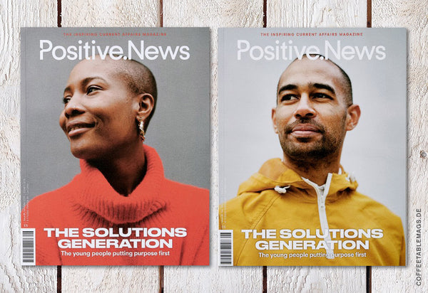Coffee Table Mags // Independent Magazines // Positive News – Number 96 (Jan–Mar 2019) – Cover (Var1)