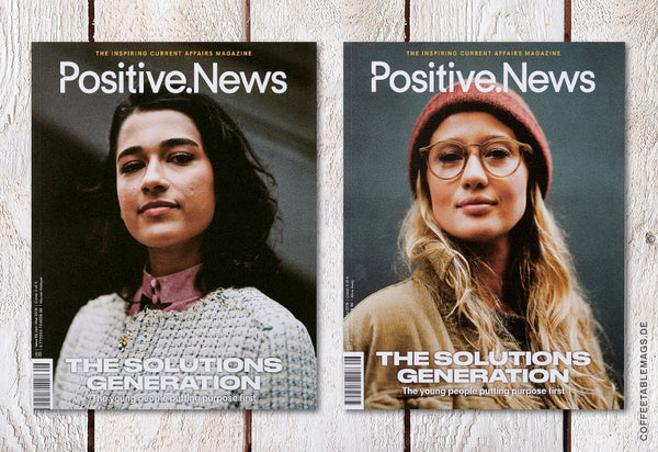 Coffee Table Mags // Independent Magazines // Positive News – Number 96 (Jan–Mar 2019) – Cover (Var2)