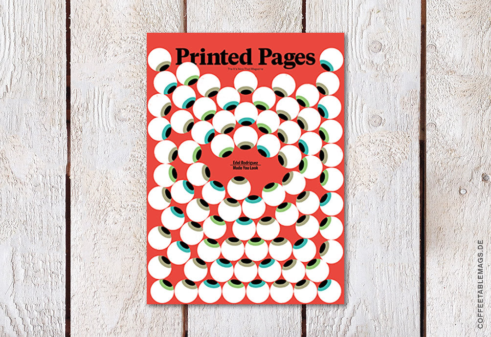 Printed Pages – Issue 15 (SS18) – Cover