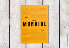 Mondial Magazine – Issue 3 – Cover