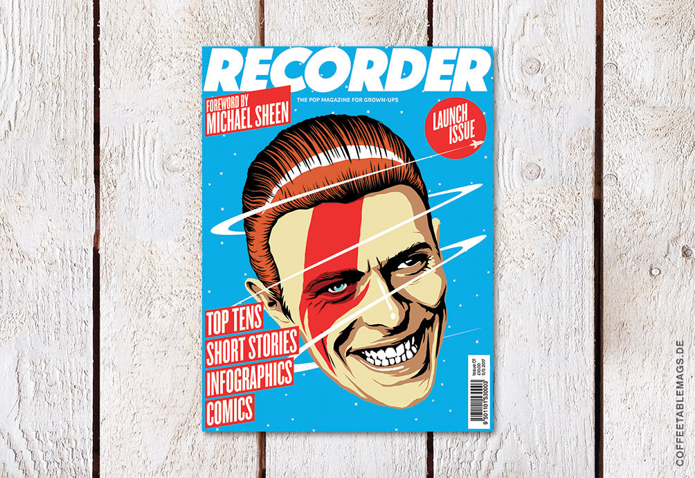 Recorder Magazine – Issue 00: David Bowie – Cover