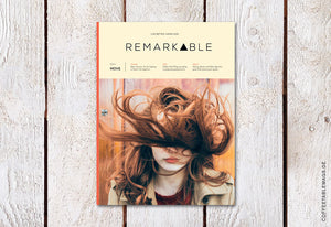 Remarkable Magazine – Issue 2 – Cover