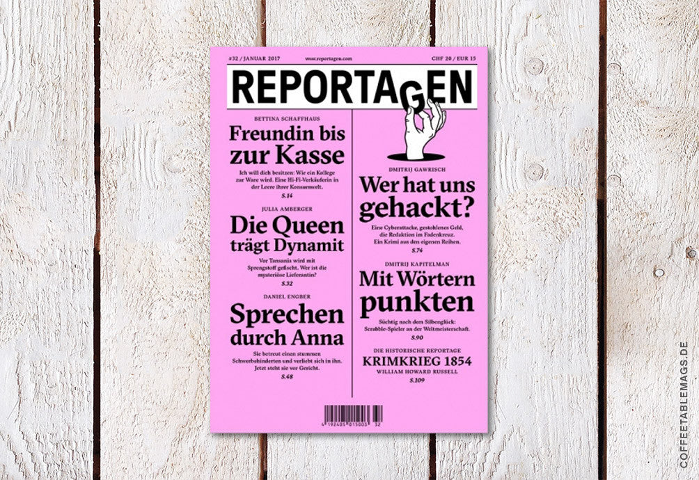 Reportagen – Number 32 – Cover