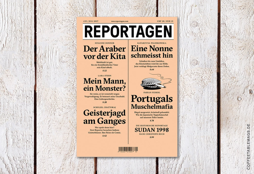 Reportagen – Number 36 – Cover