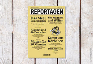Reportagen – Number 37 (German only) – Cover