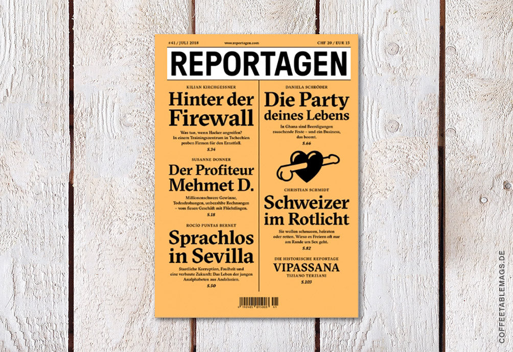 Reportagen – Number 41 – Cover