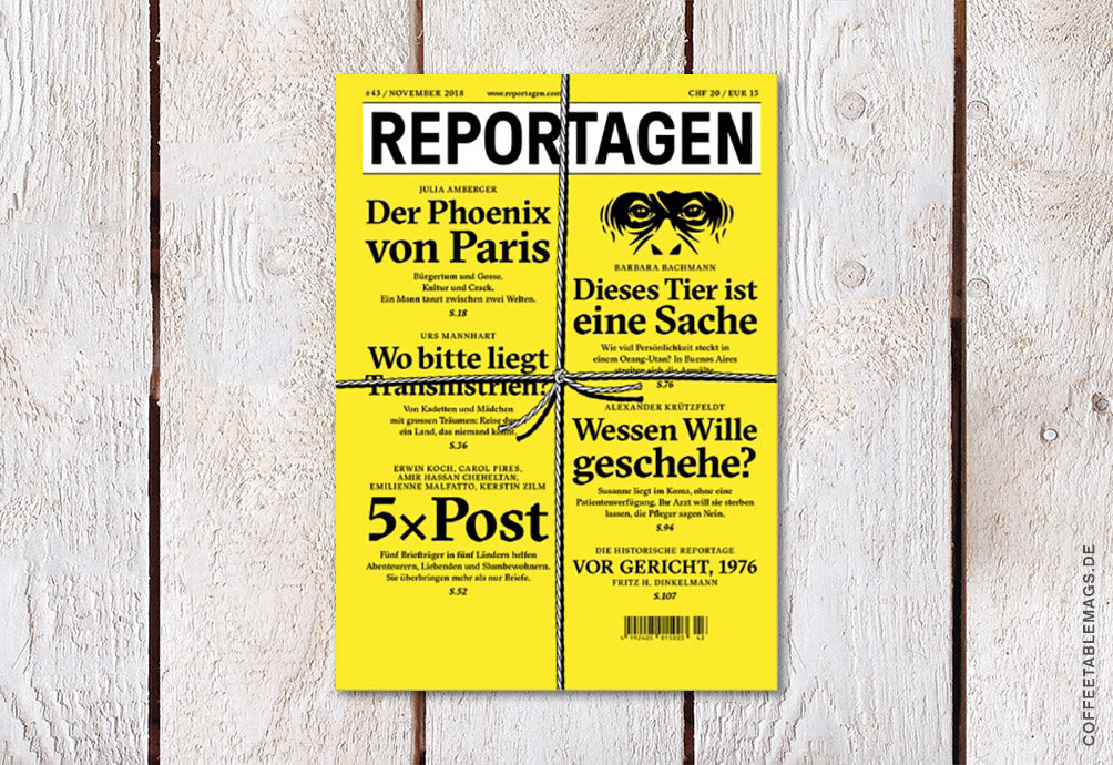 Reportagen – Number 43 – Cover