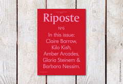 Riposte – Issue 6 – Cover