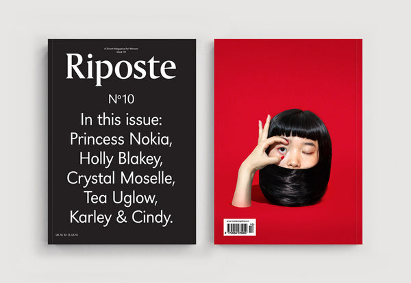 Copy of Riposte – Issue 10 – Cover: Text
