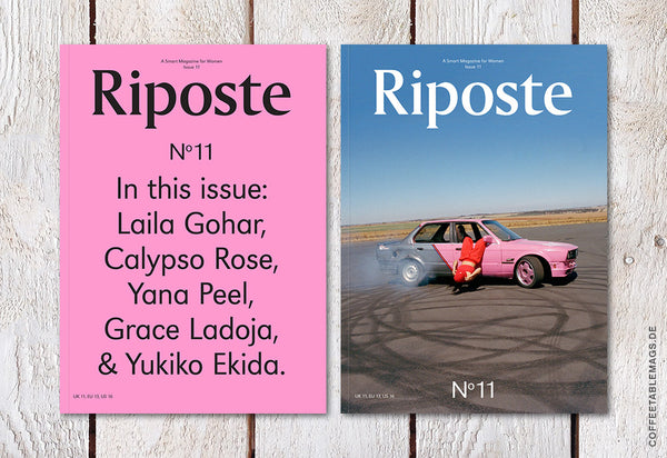Riposte – Issue 11 – Cover