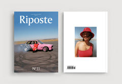 Coffee Table Mags // Independent Magazines // Riposte – Issue 11 – Cover (Stayce Lee)