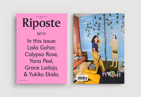 Coffee Table Mags // Independent Magazines // Riposte – Issue 11 – Cover (Typo)