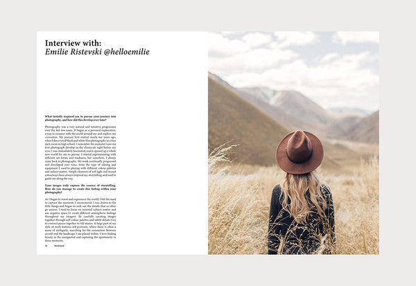 Coffee Table Mags / Independent Magazines / Rucksack Magazine – Volume 04: The Pursuit Issue – Inside 05