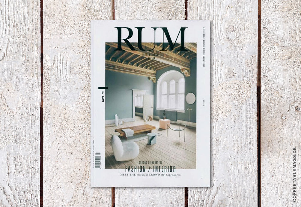 RUM International – Issue 5 – Cover
