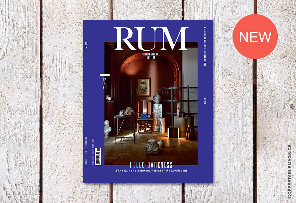 RUM International – Issue 6 – Cover