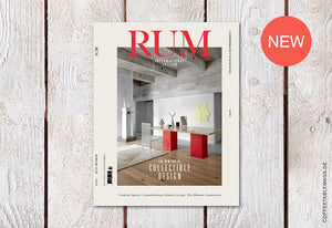 RUM International – Issue 8: The New Era of Collectible Design – Cover
