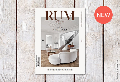 RUM International – Issue 10: Into the Archives – Cover