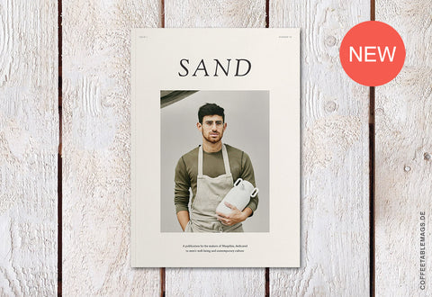 Sand Magazine – Issue 01 – Cover