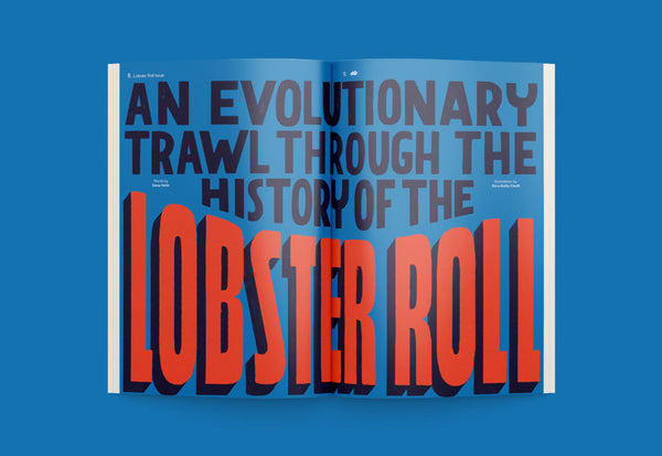 Sandwich Magazine – Edition No. 3: The Lobster Roll Issue – Inside 01
