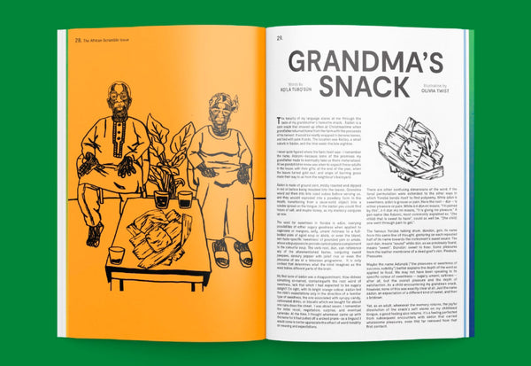 Sandwich Magazine – Edition No. 4: The African Scramble Issue – Inside 02