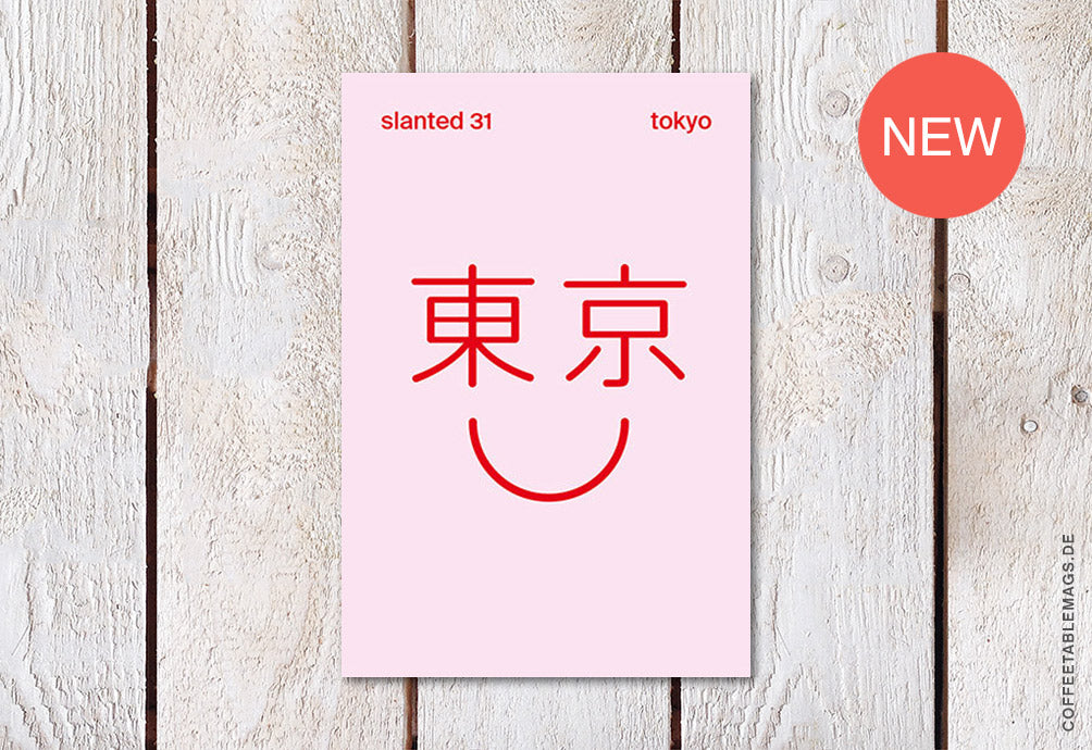 Slanted Magazine – Issue 31: Tokyo – Cover