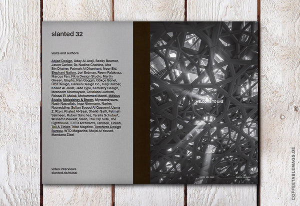 Slanted Magazine – Issue 32: Dubai – Inside 01
