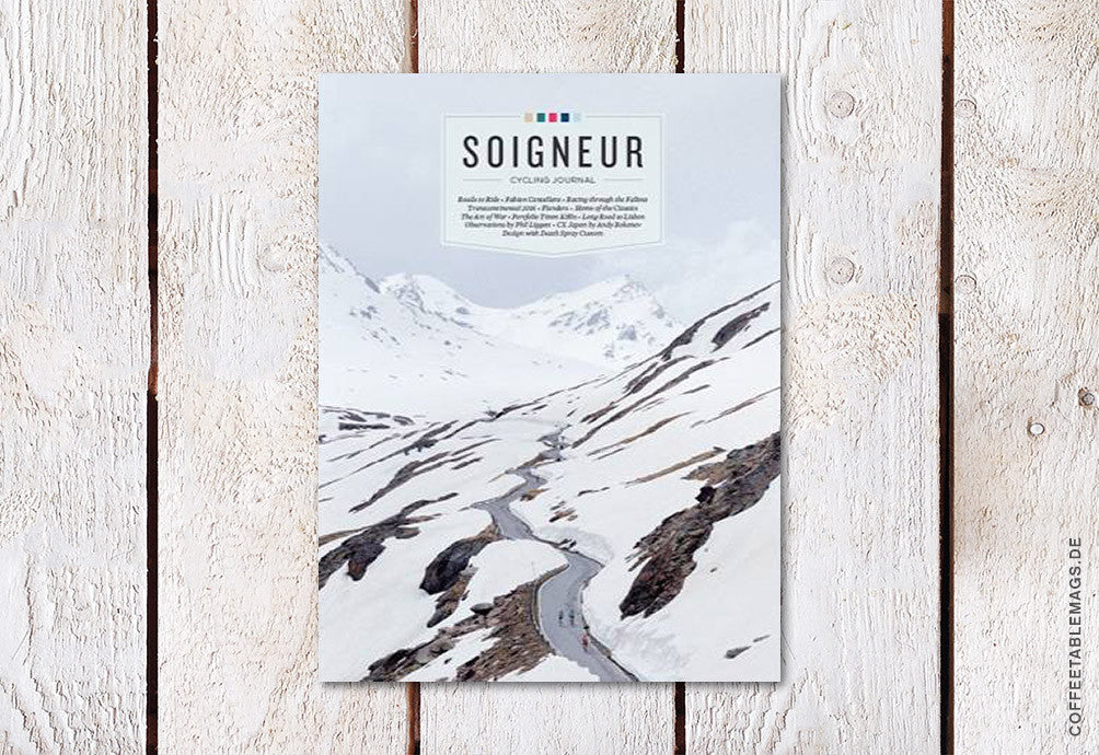 Soigneur Cycling Journal – Issue 16 – Cover