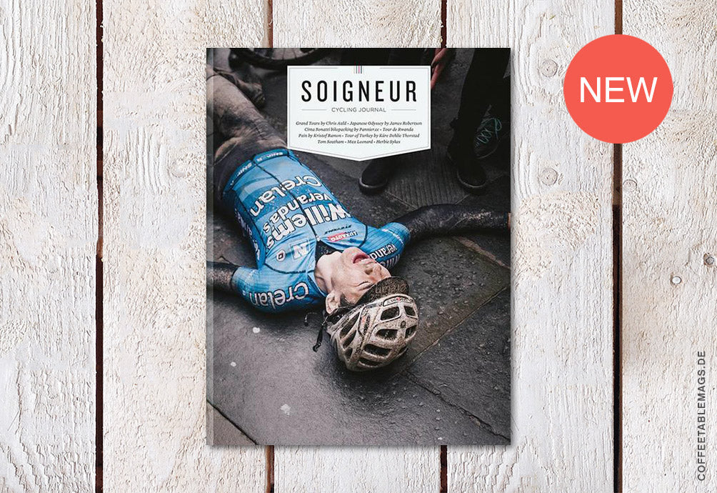 Soigneur Cycling Journal – Issue 20 – Cover