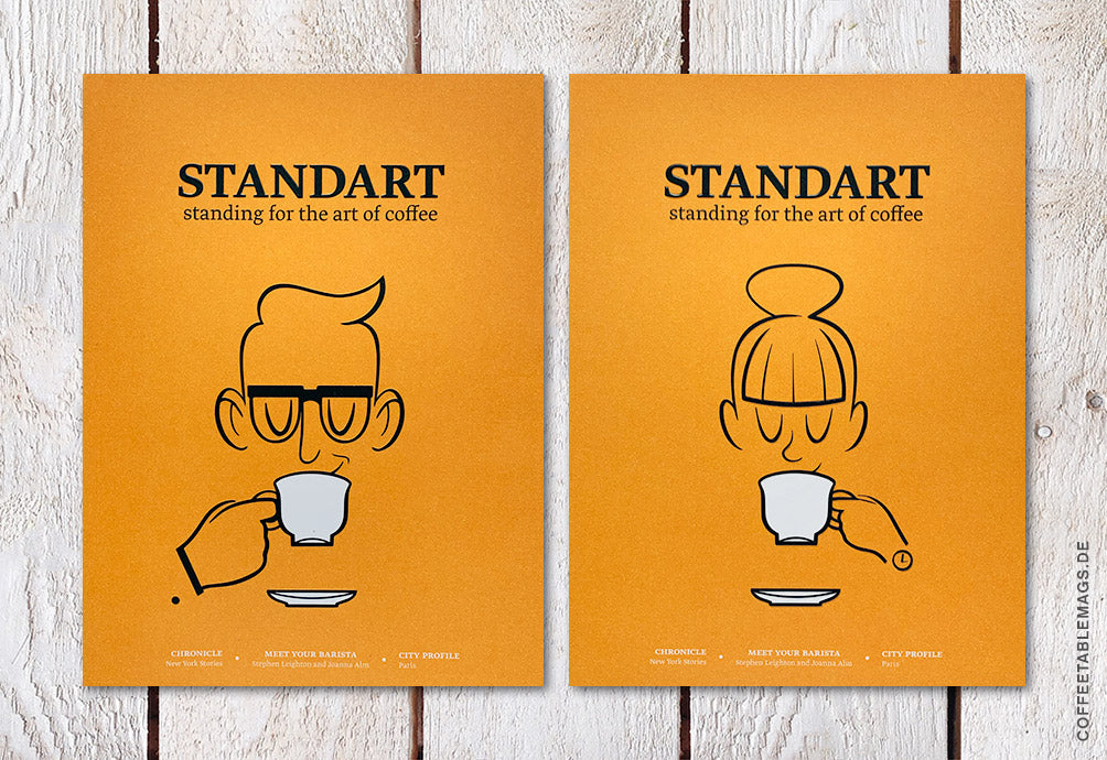 Coffee Table Mags / Independent Magazines / Standart Magazine – Issue 15 – Cover