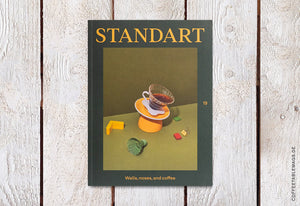Standart Magazine – Issue 19: Walls, noses, and coffee – Cover