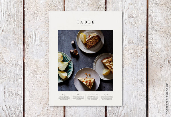 Table Magazine – Volume 03 – Cover