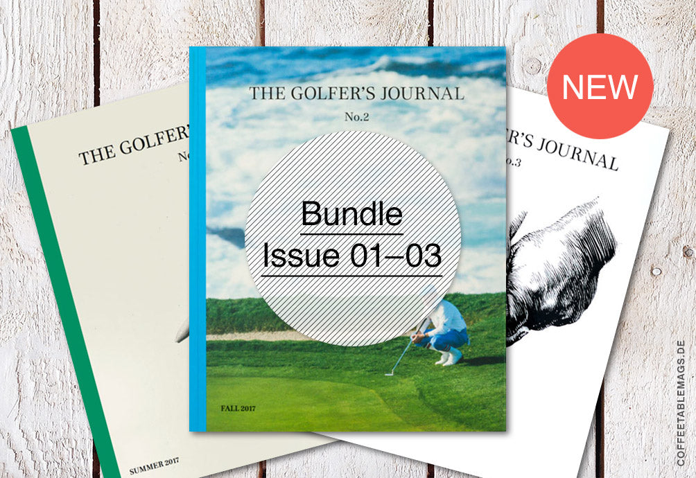 The Golfer's Journal – Bundle (Issue 01–03)