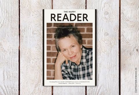The Happy Reader – Issue 12: Laurie Anderson – Cover