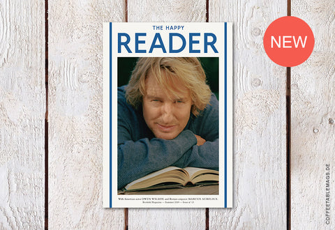 The Happy Reader – Issue 13: Owen Wilson – Cover