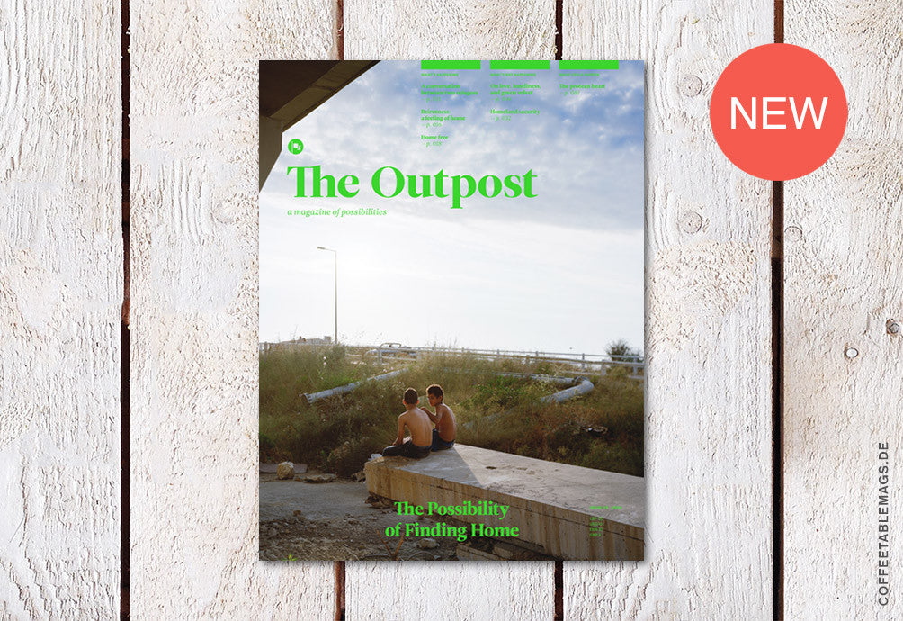 The Outpost – Issue 7: The Possibility of Finding Home – Cover
