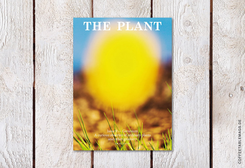The Plant Journal – Issue 09 – Cover