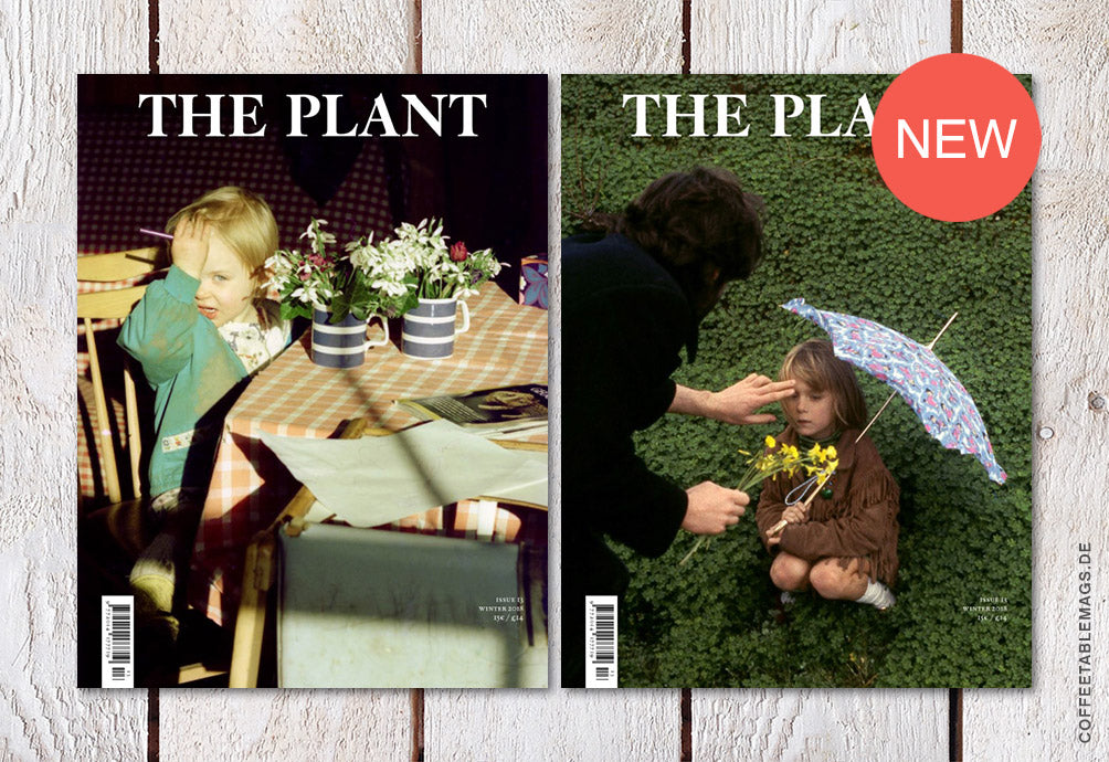 The Plant Journal – Issue 13 – Cover