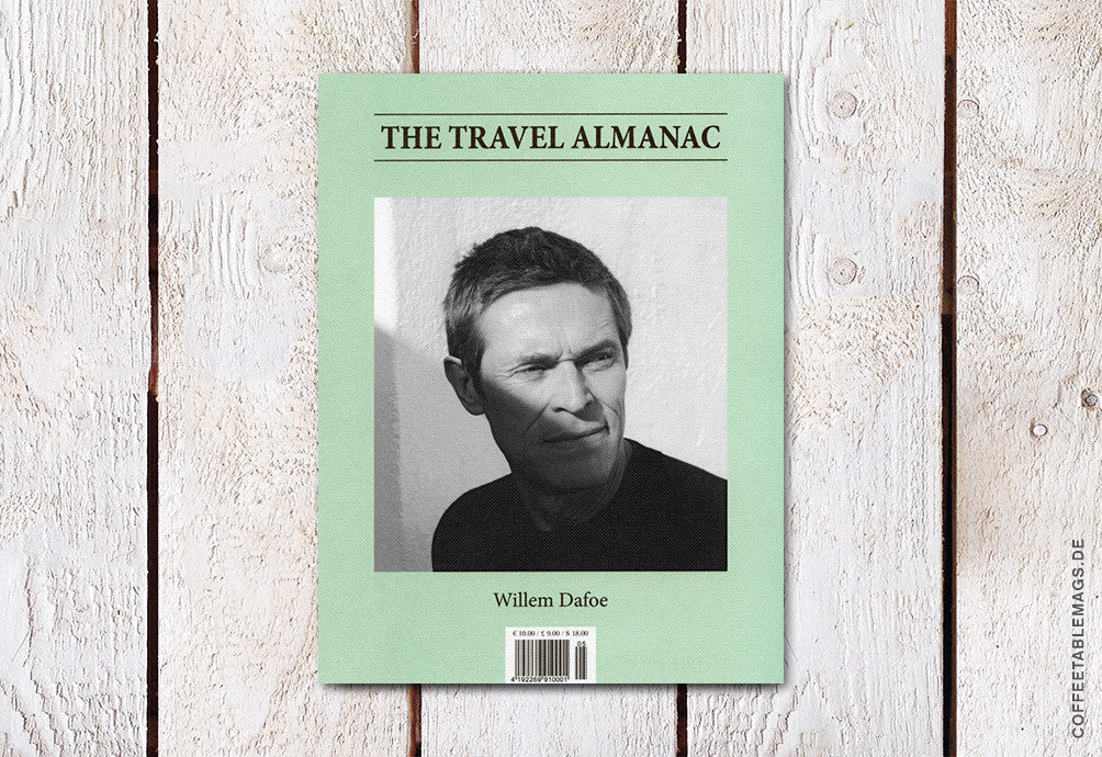 The Travel Almanac – Issue 05: Willem Dafoe – Cover
