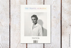 The Travel Almanac – Issue 13: The Magic Issue – Cover (Greta Gerwig)