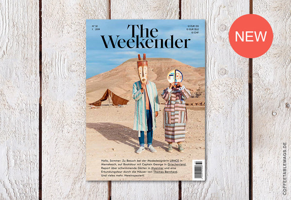 Coffee Table Mags / Independent Magazines / The Weekender – Number 32 – Cover