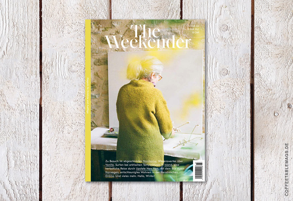 The Weekender – Number 33 – Cover