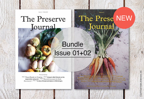 The Preserve Journal – Bundle (Issue 01 + 02)