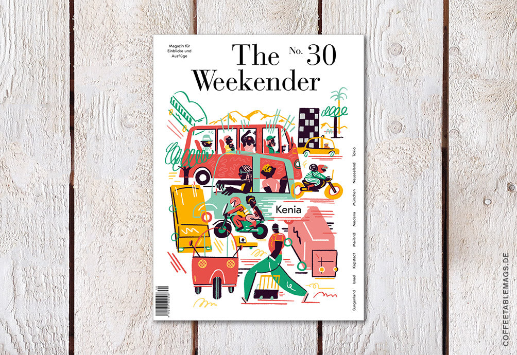 The Weekender – Number 30 – Cover